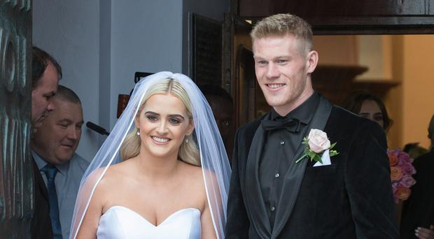 James McClean and wife Erin Connor