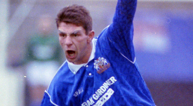 Fans' favourite: Tony Scappaticci became a Glenavon legend