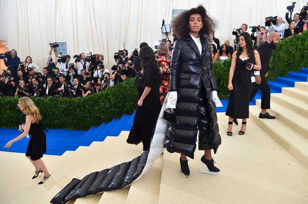 Solange attends the