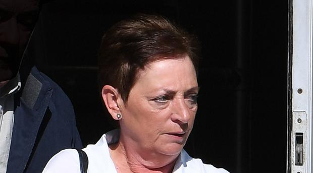 Maureen Allen at Belfast Laganside Courts - Maureen Allen was given a suspended sentence for stealing money from her elderly aunt.