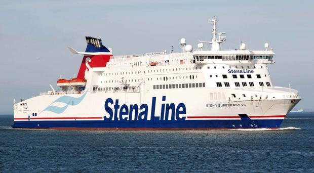 The Stena Superfast VII has now been replaced by the Superfast VIII on the Belfast-Cairnryan service