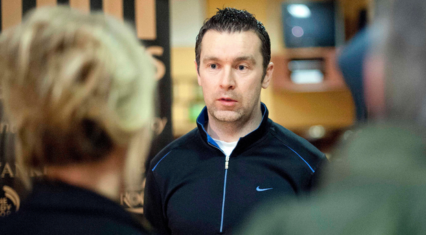 All change: Former Crossmaglen Rangers' co-manager Oisin McConville is enjoying life as a member of the backroom team for Laois hurlers