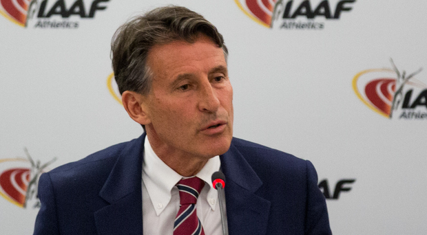 All ears: IAAF president Sebastian Coe has welcomed the debate over eliminating doping doubts
