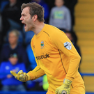 Prize guy: Roy Carroll is determined to taste Irish Cup glory