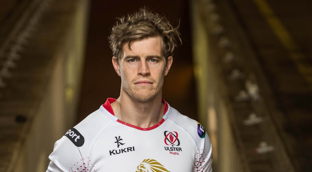 Firing back: Andrew Trimble