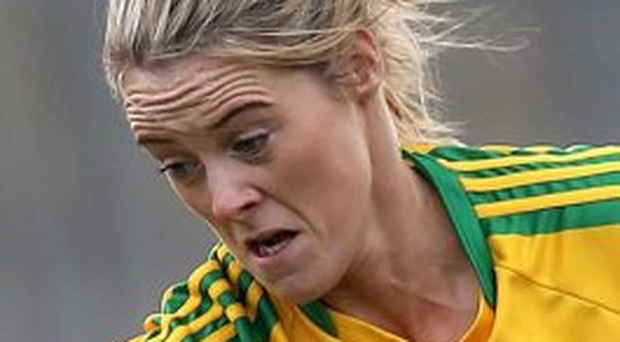 Star attraction: Yvonne McMonagle of Donegal