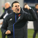 Linfield manager David Healy. Photo: Brian Little/Press Eye