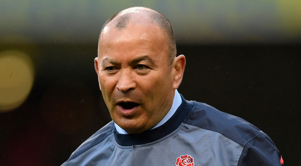 Training hard: Eddie Jones is focusing on strength and conditioning. Photo: Shaun Botterill/Getty Images