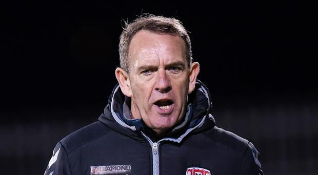 Upbeat: Kenny Shiels. Photo: Tom Beary/INPHO