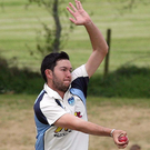 Bowled over: Dan Poulton impressed for Carrick. Photo: Freddie Parkinson / Presseye