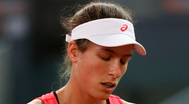 Madrid defeat: Johanna Konta. Photo: Julian Finney/Getty Images