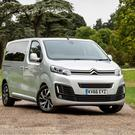 Citroen SpaceTourer aimed at larger families, with comfortable seating for up to nine