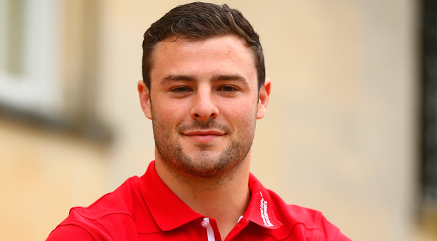 Up for it: Robbie Henshaw is relishing physical challenges