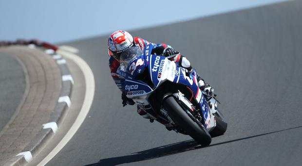 Need for speed: Alastair Seeley powers ahead in the Superbike class
