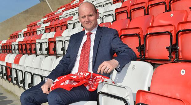Hotseat: Barry Gray at Solitude yesterday