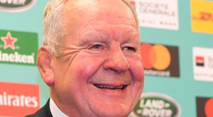 All change: Bill Beaumont says necessary step has been taken