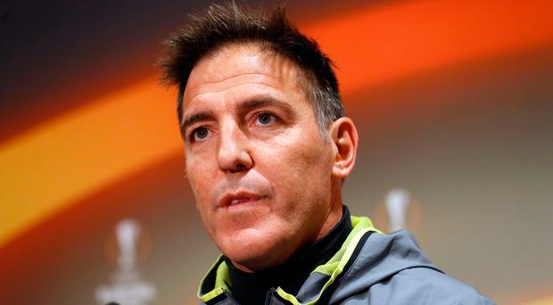 Keeping faith: Eduardo Berizzo