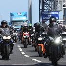 Hundreds of bikers arrive on the Stena Line to Northern Ireland for this weekÕs North West 200 road racing which runs from the 7th to the 13th May. Pic Colm Lenaghan/Pacemaker