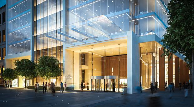 An artist's impression of One Bankmore Square