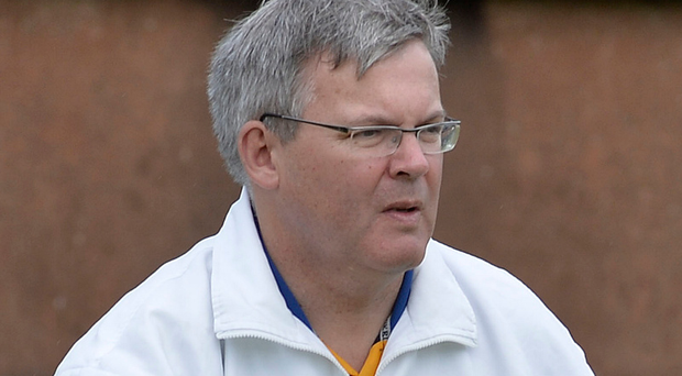 On a mission: Michael Nutt is eyeing another Senior Cup
