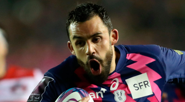 Trying times: Stade Francais' Geoffrey Doumayrou