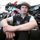 Tragedy: Malachi Mitchell-Thomas relaxes at last year's North West 200