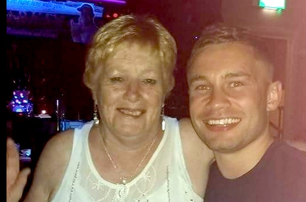 Marie Hyland with Carl Frampton