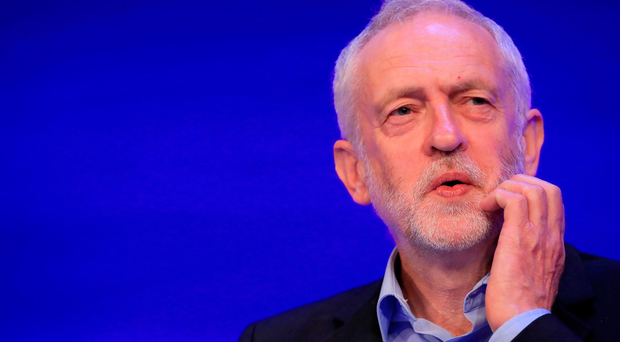 Labour leader Jeremy Corbyn speaks at the Royal College of Nursing conference at Liverpool Arena and Convention Centre during a General Election campaign visit. PA