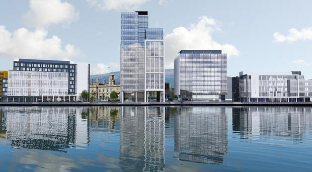 City Quays 3 is the latest phase of Belfast Harbour's development