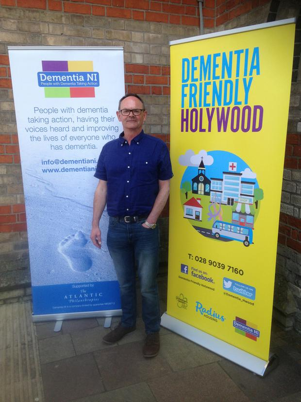 Starting over: Glenn is keen to create dementia-friendly communities
