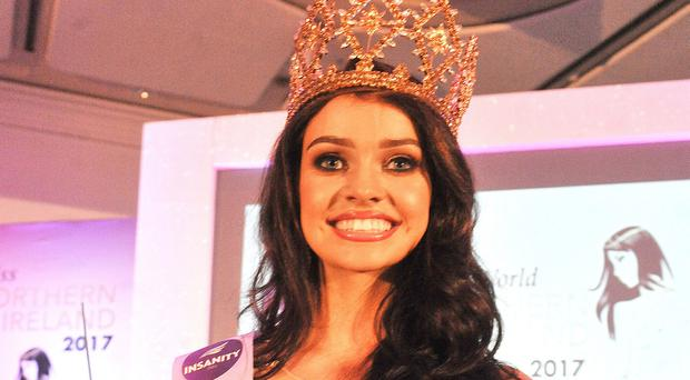 The newly crowned Miss Northern Ireland is Anna Henry. (Alan Lewis- PhotopressBelfast.co.uk)