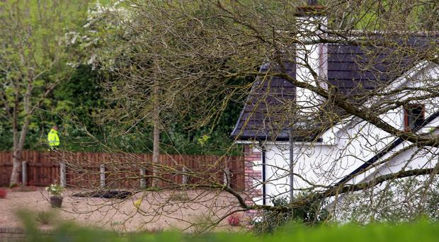 The house at Maguiresbridge where the deaths occurred