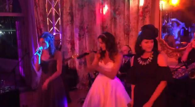 Keavy and Edele Lynch perform C'est La Vie with fellow B*Witched star Sinead O'Carroll.