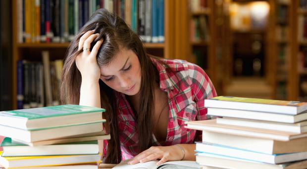 Testing times: Thousands of people are preparing to take exams over the next few weeks
