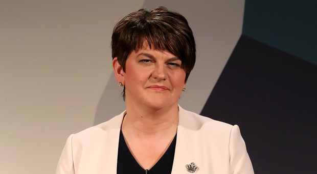 DUP party leader Arlene Foster