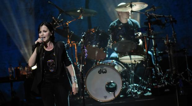 The Cranberries perform at Belfast's Waterfront Hall.