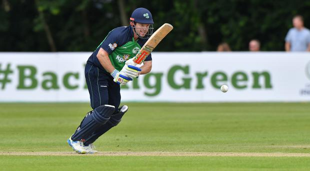 Big hitter: Ed Joyce will make his return for Ireland after a back injury