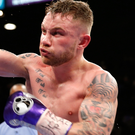 Back in training: Carl Frampton