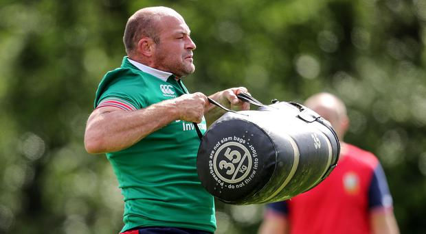 No baggage: Rory Best says he is focused ahead of Lions tour