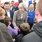 Theresa May at the Balmoral Show
