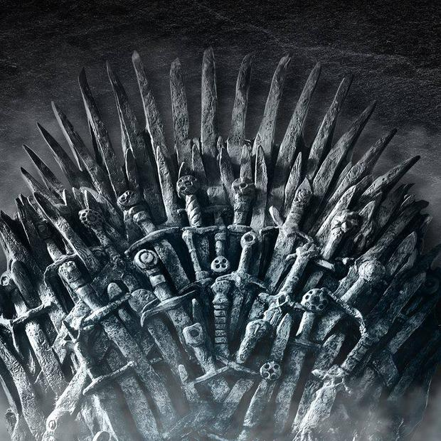 The Iron Throne of Westeros.