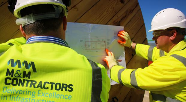 M&M Contractors work on global projects