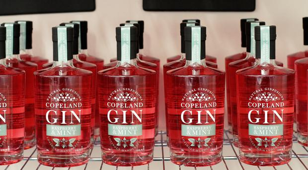 Copeland Spirits has two ginfusion flavours