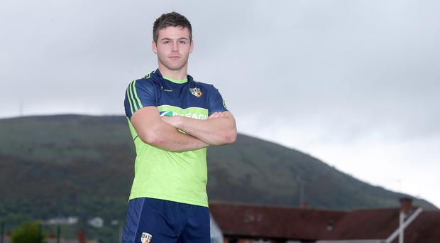 Up for it: Patrick McBride is relishing the Donegal clash