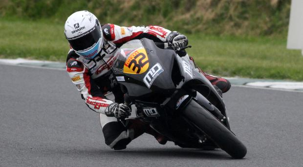 Super show: Carl Phillips will ride his Michael Dunlop Suzuki Superbike at Bishopscourt today