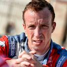 Setback: Kris Meeke has been sidelined