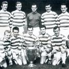 Greats: Celtic's Lisbon Lions after winning the European Cup in 1967