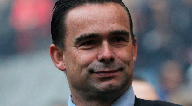 Glory days: Ajax's technical director Marc Overmars won the Champions League with the underdogs in 1995. Photo: Dean Mouhtaropoulos/Getty Images