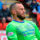 Alan Mannus of St Johnstone