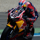 On the road: Nicky Hayden in action for Red Bull Honda. Photo: Mirco Lazzari/Getty Images